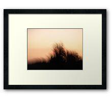 Abstract Sunset Sunrise Framed Print