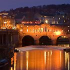 Bath at Night by caughtinmotion