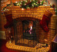 Warmest Christmas Greetings by Angele Ann  Andrews