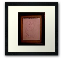 abstract divinci Framed Print