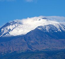 First Winter Snow 2013 Mount Etna by Francis Drake
