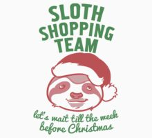 Sloth Shopping Team by Look Human