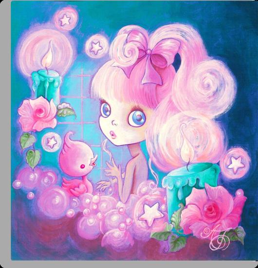 Magical Bubblebath by TenshiNoYume