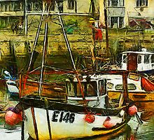 West Bay harbour, Dorset, UK  by buttonpresser