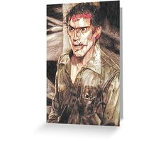 Ash from Evil Dead II (2) Greeting Card