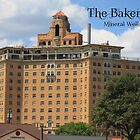 The Baker Hotel Mineral Wells Texas by Cassandra Scarborough