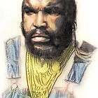 B.A. Baracus or Mr. T from the A-Team by Aaron Bir by AaronBir