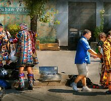 Music - Mummers preperation by Mike  Savad