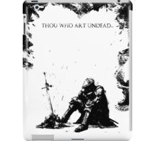 Oscar of Astora iPad Case/Skin