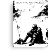 Oscar of Astora Canvas Print