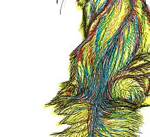 psychedelic fur by Ashley Peppenger