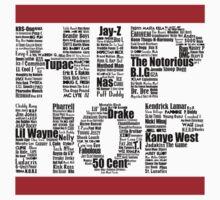 Hip Hop in White by ArtOnMySleeve