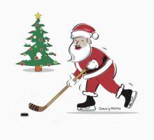 Hockey Santa by SaucyMitts