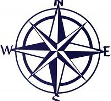 "20"" Compass Rose by Artist Kevin Fletcher by rusticeditions"