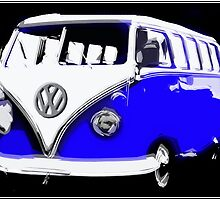 Classical Blue Kombi by Robin Brown