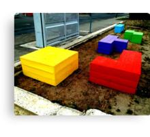 Tetris 2013  Canvas Print