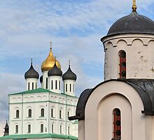 Cathedral and Chapel by mrivserg