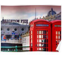 Phone Home - Brighton - Orton Poster