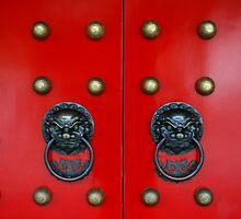 Chinese Door Knockers by jwwallace