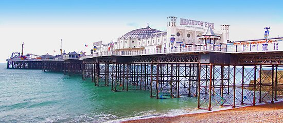 "Brighton Pier - The ""Palace Pier"" by Colin J Williams Photography"