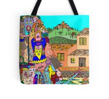 Tuscany intruders Tote Bag