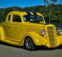 """1935 Ford Coupe """"The Bumble Bee"""" by TeeMack"""