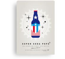 My SUPER SODA POPS No-14 Canvas Print