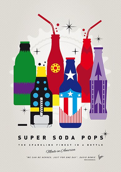 My SUPER SODA POPS No-27 by Chungkong