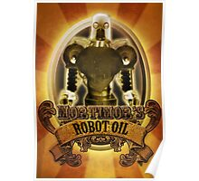 Mortimors Robot Oil. Poster