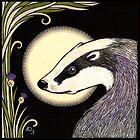 Moon Badger by Anita Inverarity