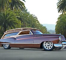 1950 Buick Woody Wagon VI by DaveKoontz