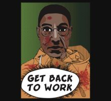 GET BACK TO WORK (Comic version) by Pichins Creations