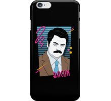 Retro Swanson iPhone Case/Skin