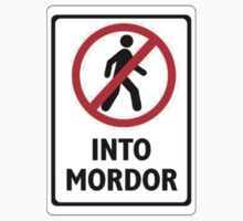 Don't Walk Into Mordor. by MichaelDeSanta