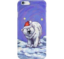 Polar Bear Christmas iPhone Case/Skin