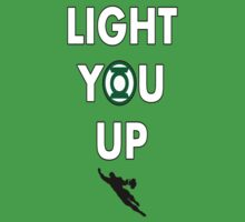 Light You Up Green Lantern Tee by gentilj17
