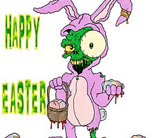 Zombie Easter by Skree