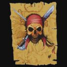 Pirate skull by KpncoolDesigns