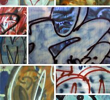 Graffiti Montage by Lisann