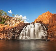 Upper Edith Falls, NT by Dave Ellem