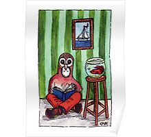 KMAY Hoodkid Owl Reading Poster