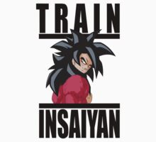 Train Insaiya - Goku by irig0ld