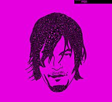 Daryl Dixon from Walking Dead (Purple) by seanings