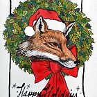 X-mas Fox by ECDesigns