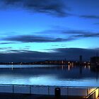 Morning Blue on the Aalborg Limfjord   (1) by Larry Lingard/Davis