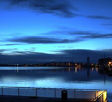 Morning Blue on the Aalborg Limfjord   (1) by cullodenmist