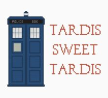 Crosstitch Tardis by lingus