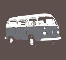 New Bay Campervan Grey by Ra12