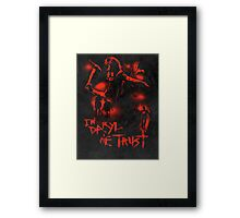In Daryl We Trust Framed Print