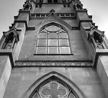 South Window - Cathedral of St. Helena by Sue Morgan